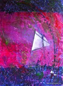 Abstrakte Malerei von Simone Scharte