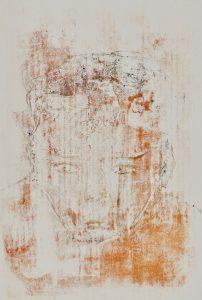 abstraktes Porträt